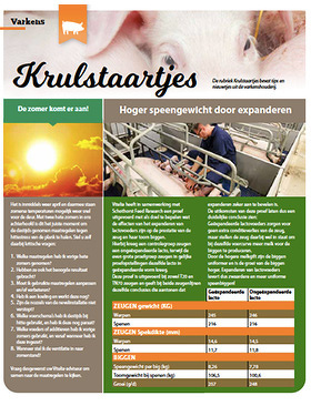 Krulstaartjes | april 2020